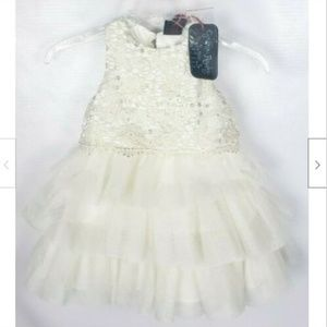 Cynthia Rowley Toddler Dress 2T Ruffled Tiered NWT